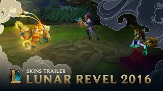 Lunar Revel: the Wolf, the Serpent, the Monkey King | Skins Trailer - League of Legends