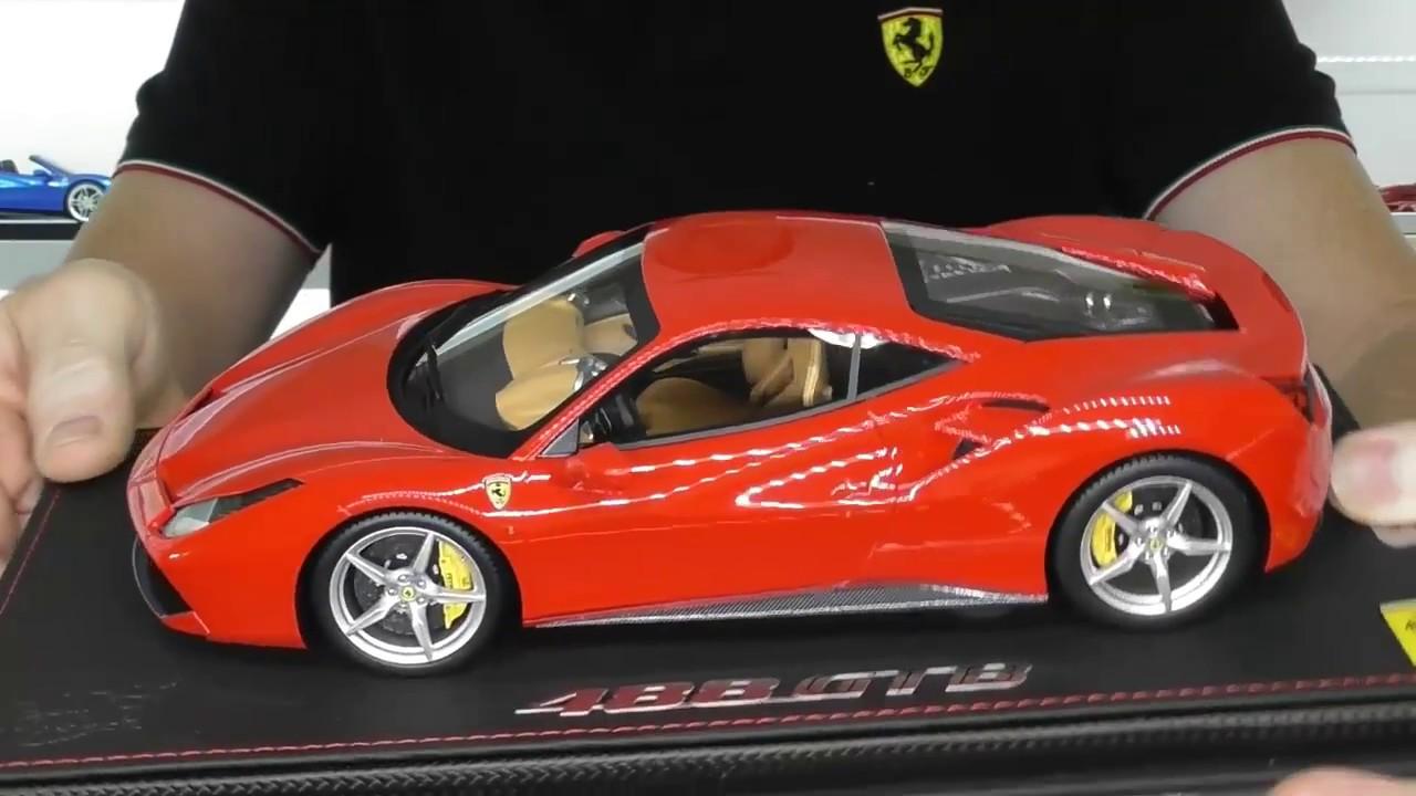 Ferrari 488 Gtb By Bbr Models In 1 18 Scale Full Review Youtube