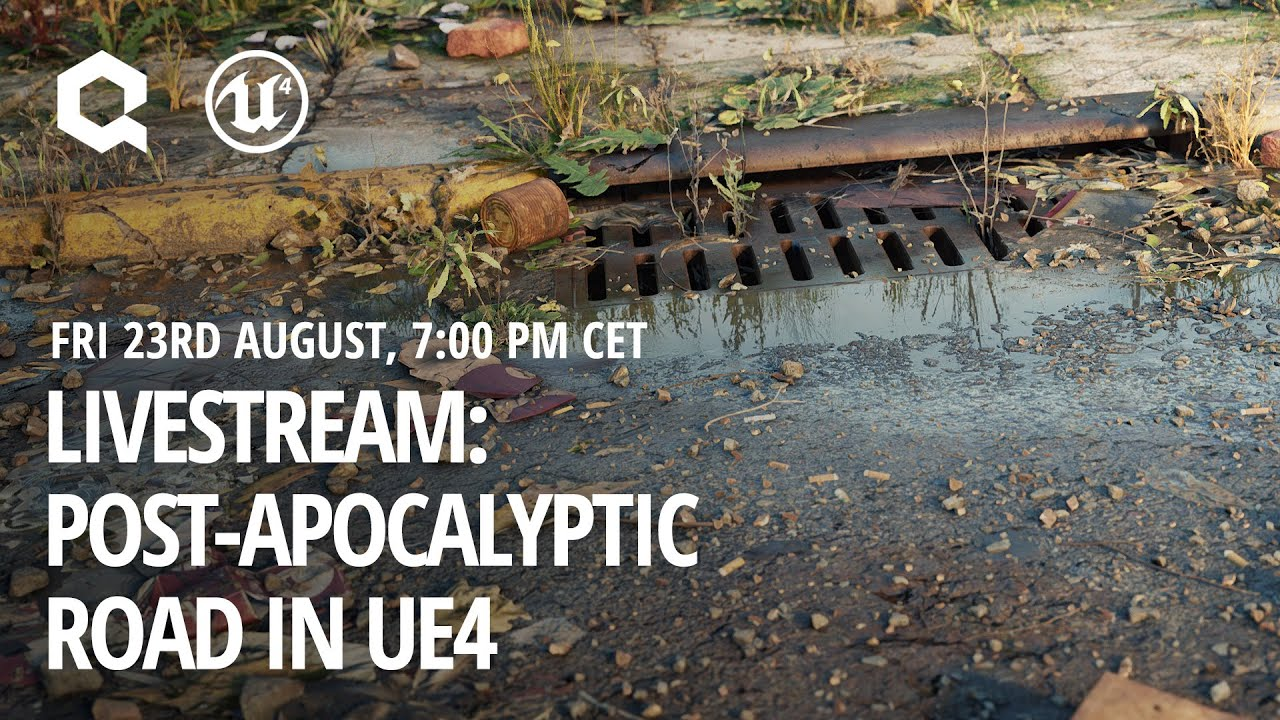 Creating a Road in UE4 with Megascans, Bridge and Mixer