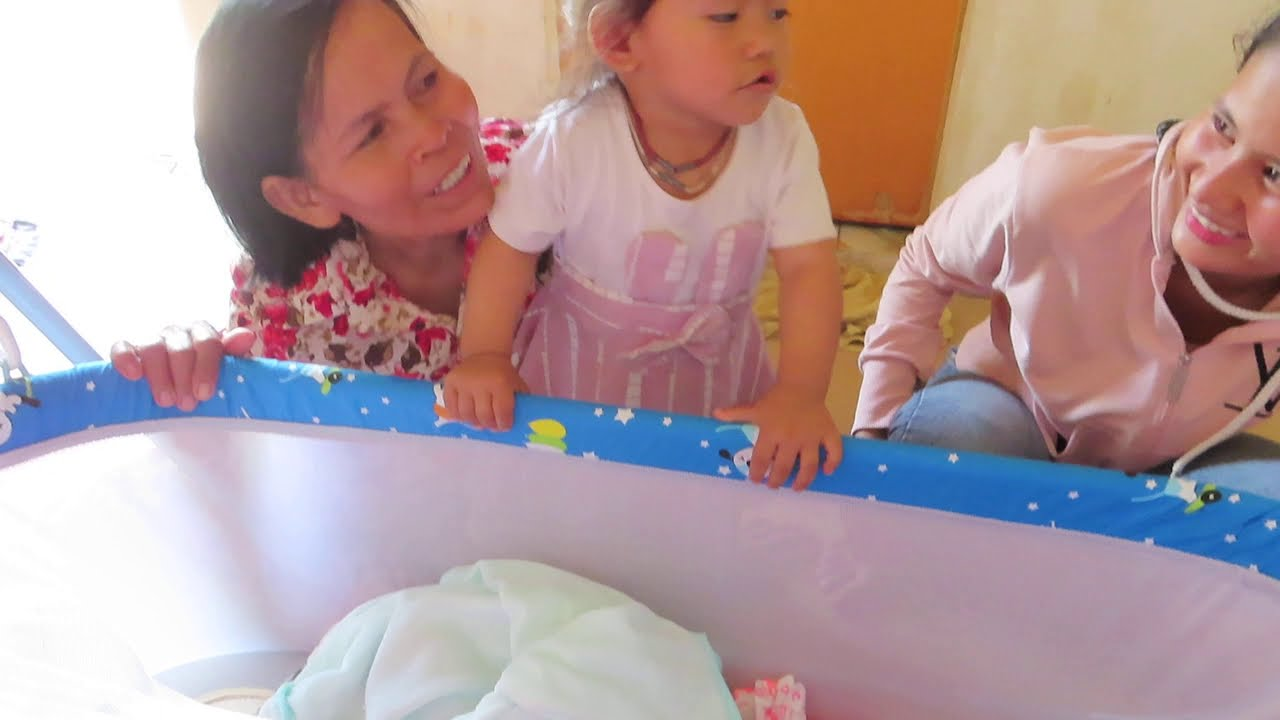 Mony Reach Baby and Sister So Lovely Cute Baby Video