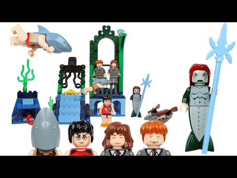 2005 LEGO Harry Potter Rescue From The Merpeople 4762 Review!
