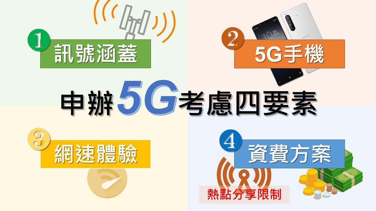 5G體驗心得 - 現在申辦5G值得嗎?熱點分享又是怎麼被偵測的? | 申辦5G考量四要素詳細分析