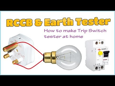 How to make RCCB tester at Home
