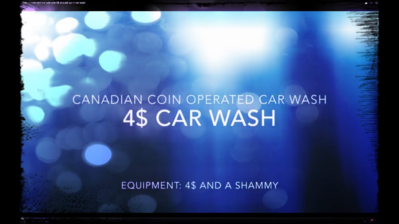 4 self serve coin operated car wash how to diy youtube solutioingenieria Images