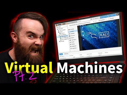 Virtual Machines Pt. 2 (Proxmox install w/ Kali Linux)