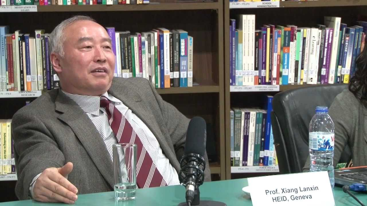 Interview with Prof. Xiang Lanxin - YouTube