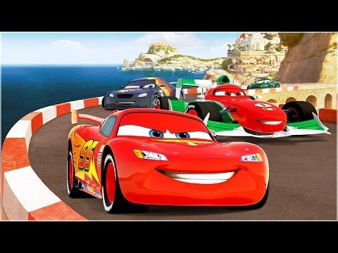 Мультфильм про машинки игра тачки молния маквин disney cars games
