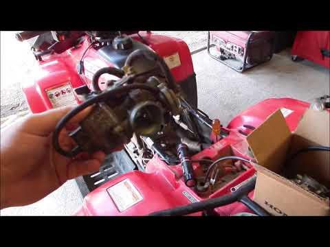 Honda Recon Carb Install