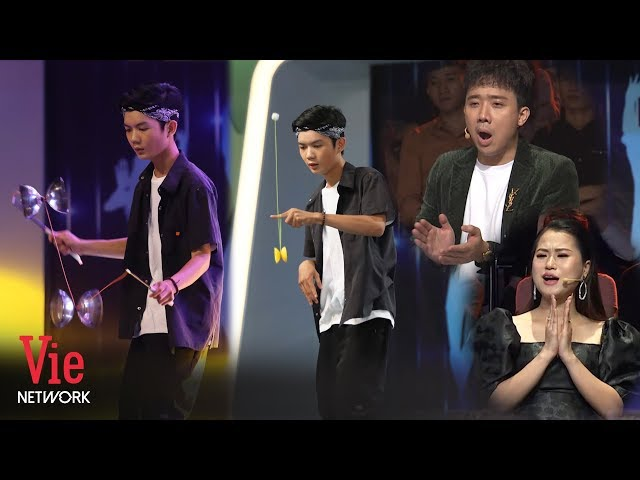 Mãn nhãn với màn biểu diễn Yoyo của cựu Á quân giải vô địch châu Á Thái Bình Dương | Người Bí Ẩn #17