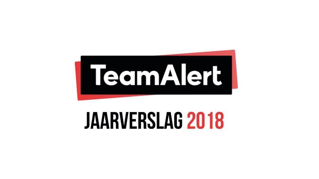 Jaarverslag TeamAlert 2018