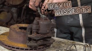 Here's How Your Foot Is Able To Bring A 4,000 Pound Car To A Halt | David Dissects