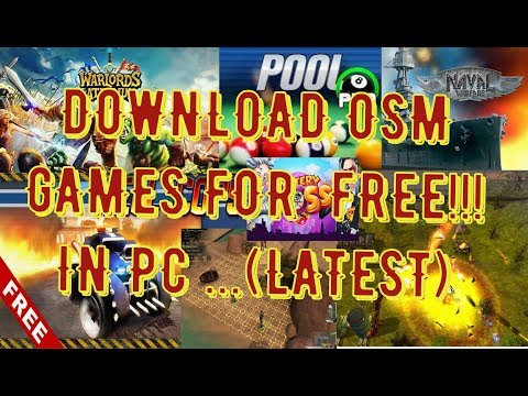 How to Download osm mini games for pc free|latest|(2019