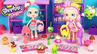 Куклы ШОПКИНС! Обзор мультик Игровой набор Шоппис Jessicake & Bubbleisha Shoppies Dolls Shopkins