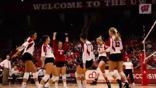 2015 Wisconsin Volleyball Season Highlights