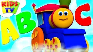 Alphabet Adventure - Bob The Train | + More Learning Videos & Kids Songs | Kids Tv