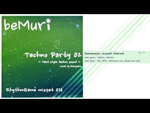 Bemuri rg mixset 016 techno party 02 music game dj for Schreibtisch techno 016