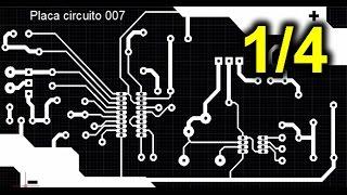 Tutorial diseño de placa de circuito impreso con AutoCAD. Parte 1/4