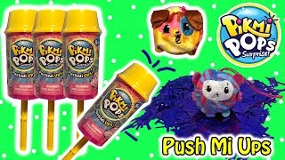 New Pikmi Pops Surprises Push Mi Ups Surprise Pops With Confetti & Scented Plushies