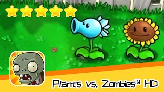 Plants vs  Zombies™ HD Adventure 1 Day Level 03 Part 1 Walkthrough The zombies are coming! Recommend