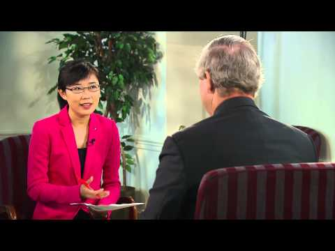 Tom Vilsack talks with CCTV about US-China agricultural cooperation