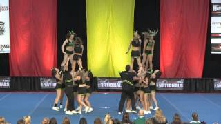 University of Regina Cheerleading - PCA UONCC 2011 - Run 1 - Small Co-ed
