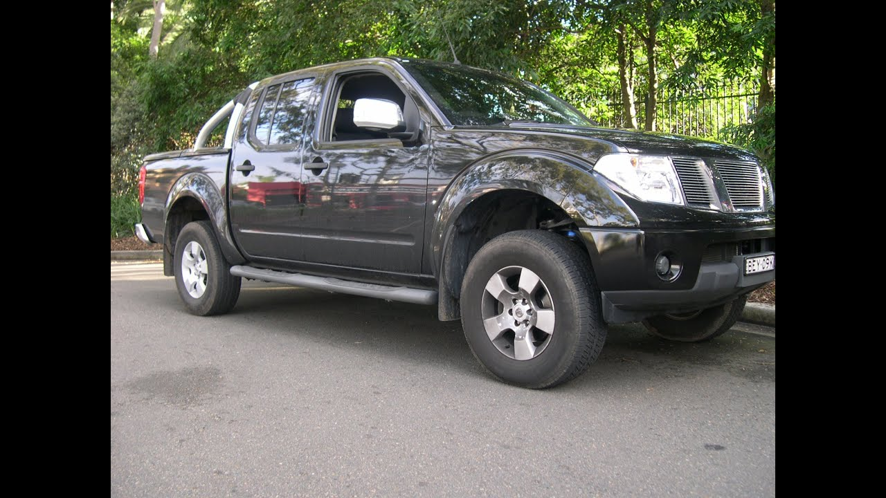 "Nissan Frontier 4 Inch Lift >> Nissan Navara D40 2"" (50mm) Econo Suspension Lift Kit - Snake Racing - YouTube"