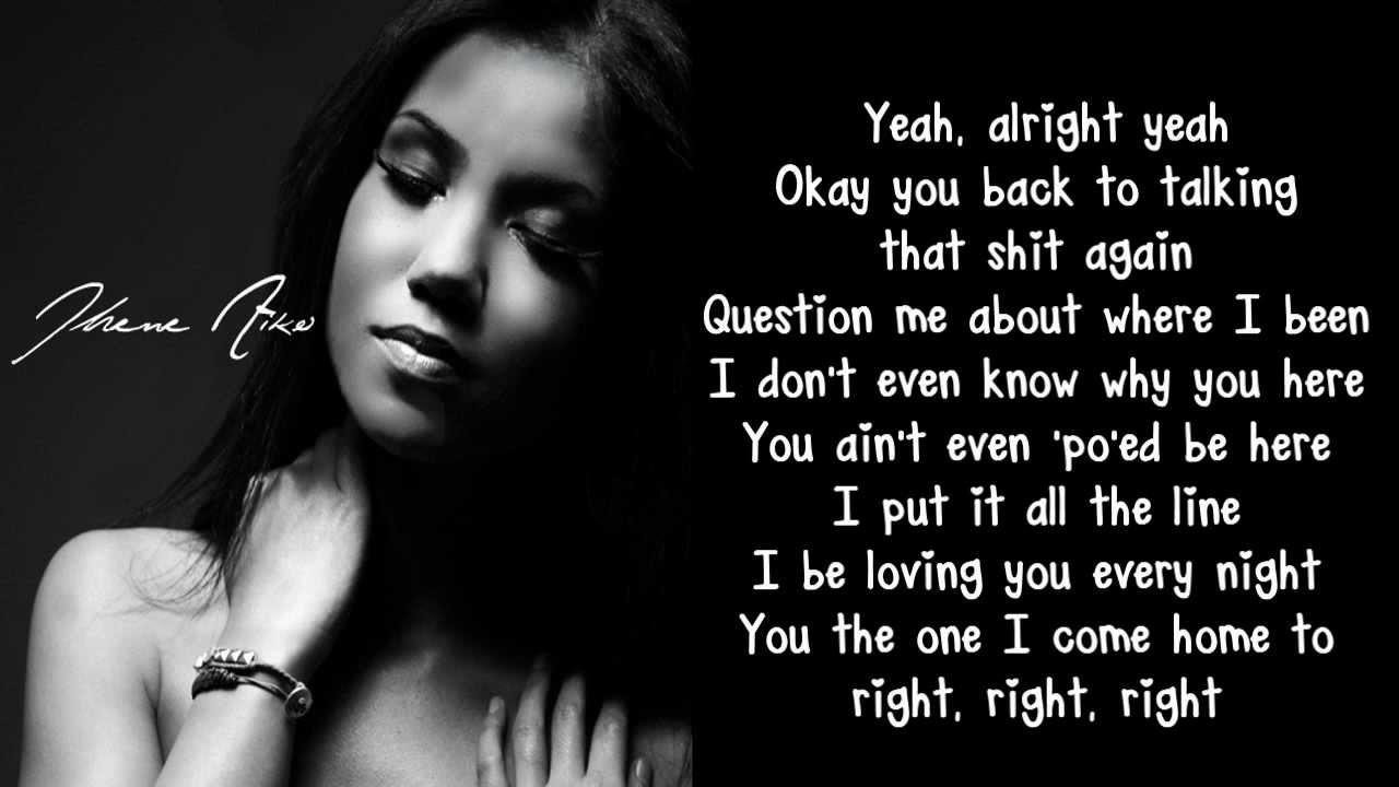 Jhene Aiko 2 Seconds Lyrics Youtube
