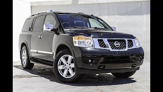 Nissan Armada 2005.  5.6АТ.  Большой быстрый красавец.  Отзыв реального владельца.