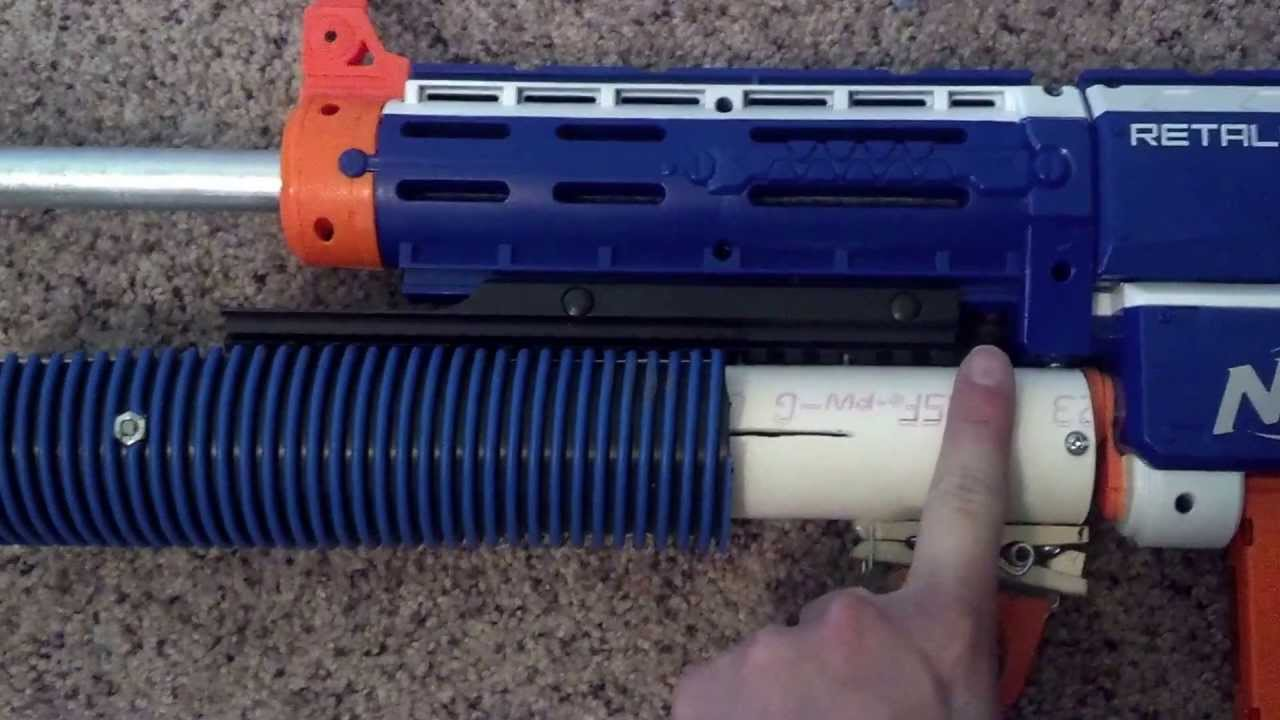 Nerf Grenade Launcher-NEW - YouTube