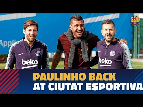 """Paulinho: """"Nos apreciamos mucho con la gente del Club"""""""
