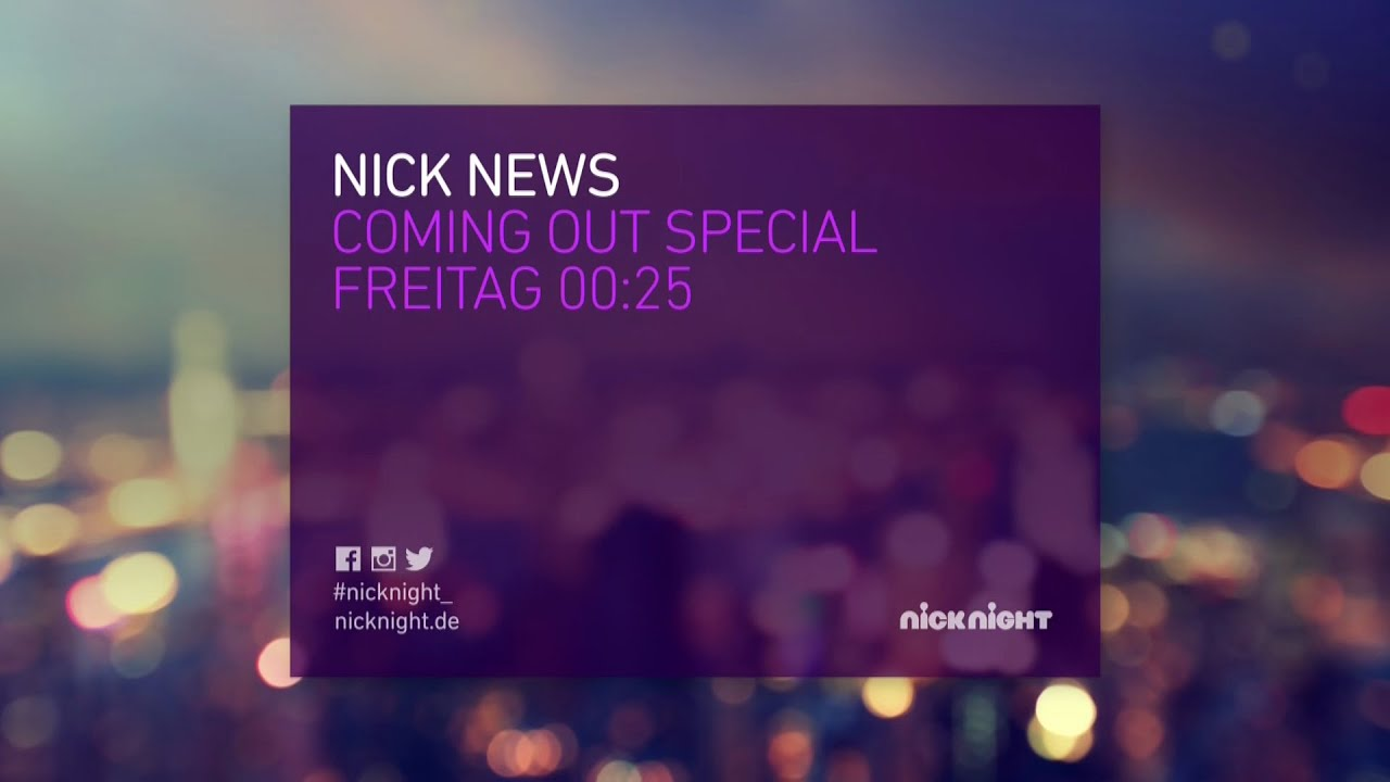 Nick news with linda ellerbee coming out special nicknight germany