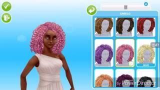 Evento de cabelo no the Sims freeplay ( mostrando todos os cabelos )