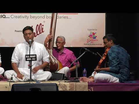 Pallavi Darbar 2018 l K.Bharat Sunder l Carnatica & Sri Parthasarathy Swami Sabha