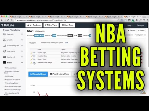 NBA Betting Systems - Win Money Betting on Basketball