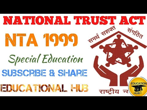 National Trust Act 1999 | Autism | Cerebral Palsy | Mental Retardation | Multiple Disability | Share