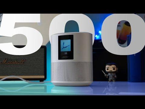 Bose Home Speaker 500 Review - Impressive, Most Impressive