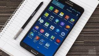 видео Samsung Galaxy Note 3. Лучшая лопата