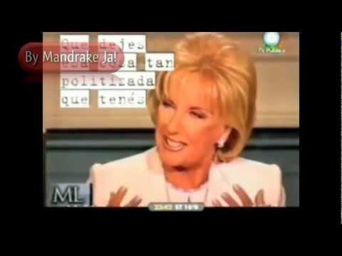 Mirtha Legrand - Lo que vale es el talento y vos lo tenes y mucho - By Mandrake Ja!