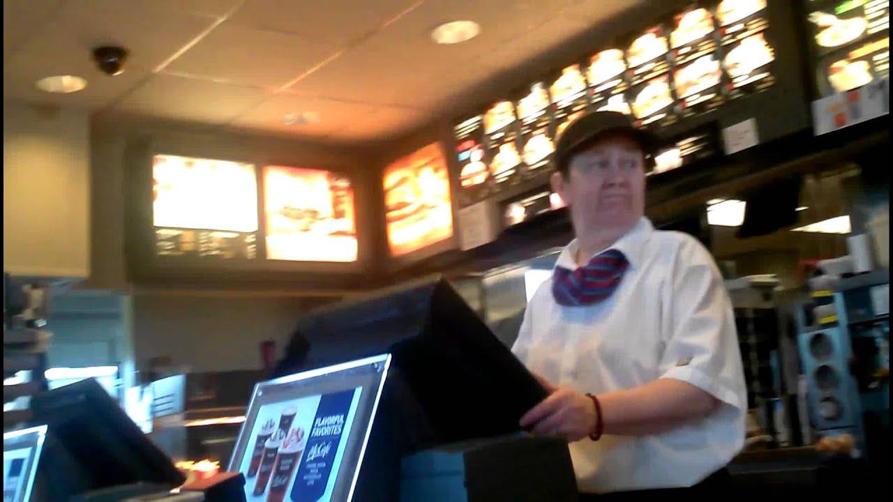 mcdonalds cashier duties