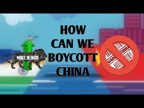 Boycott China: The Harsh TruthBoycott China and Chinese goods