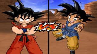 [TAS] DBZ BT3 Kid Goku Vs. Goku (GT) (Enhanced Red Potara) (Request Match)