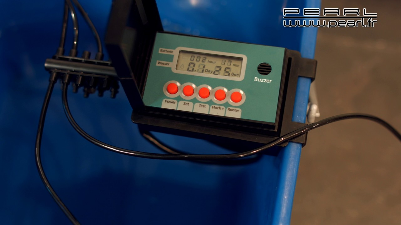 Arrosage Automatique D Intérieur nx7370 - systeme d'irrigation automatique