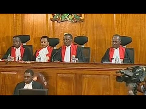 Kenya's Supreme Court annuls presidential election marred by 'irregularities'