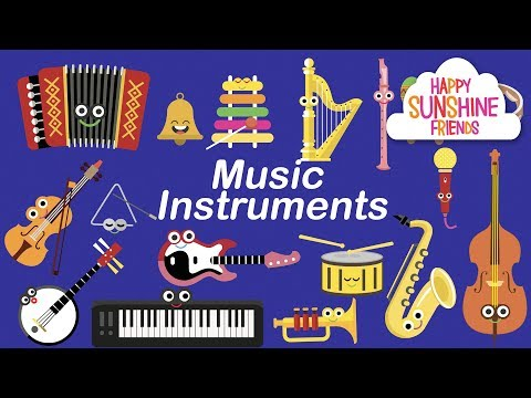 Music Instruments kids learning | Kids Find Instruments