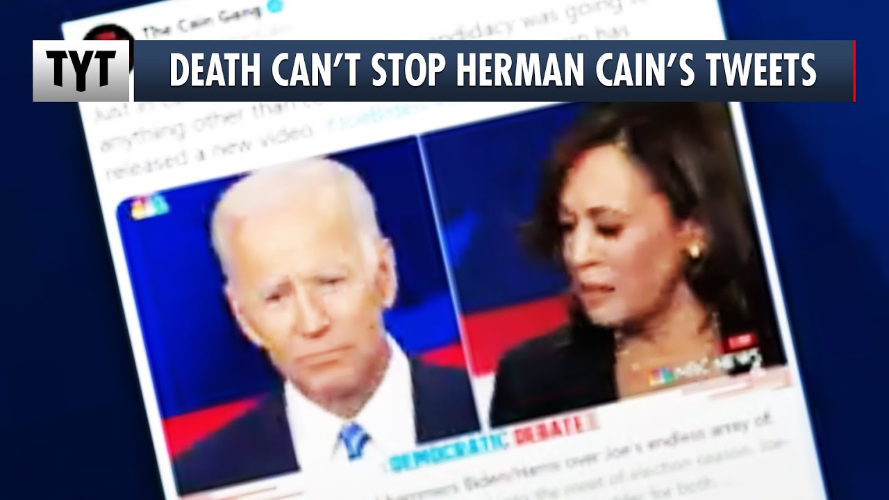 Herman Cain Tweets From The Grave