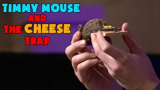 Timmy Mouse and the Cheese Trap - Obedience & Wisdom Keeps Kids Safe