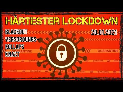 Mega Lockdown! Blackout und Versorgungskollaps möglich