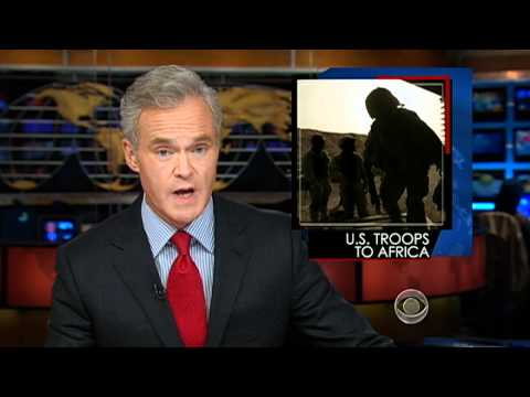 The CBS Evening News with Scott Pelley - Obama orders troops to central Africa