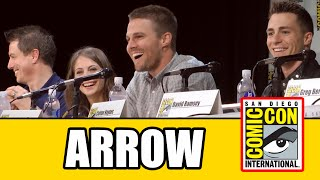 Arrow Full Comic Con Panel 2014