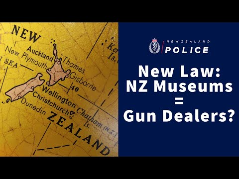 New Zealand Museums Now Licensed Same as Gun Dealers